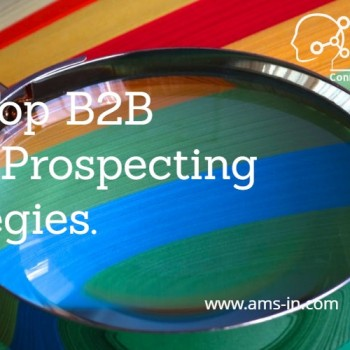 B2B prospecting strategies for B2B businesses.