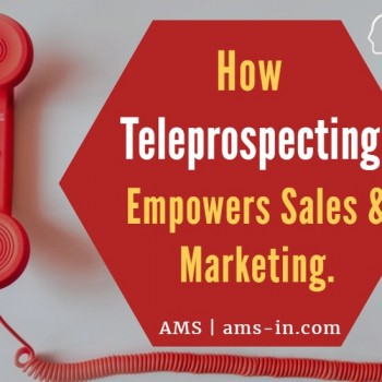 Importance of Teleprospecting in sales and marketing.