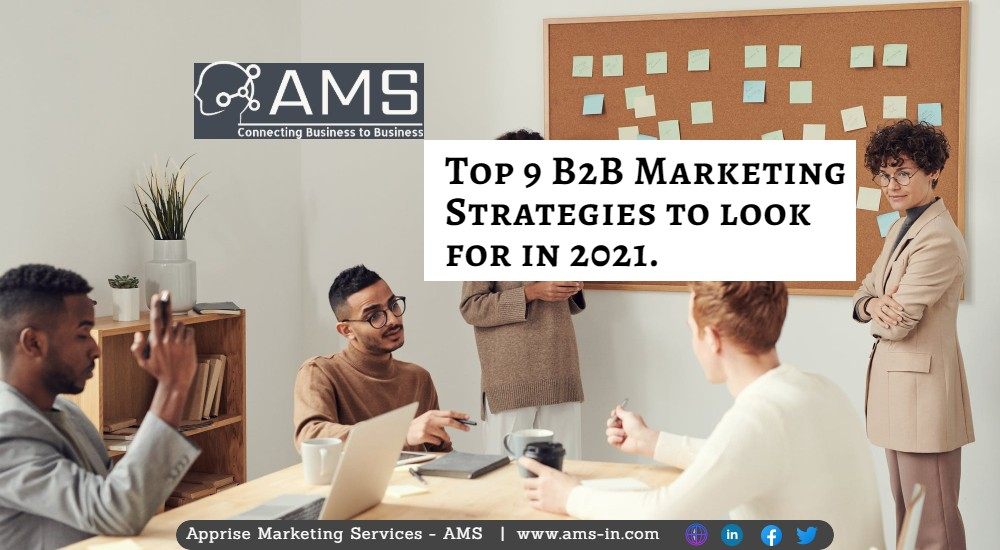 Top B2B Marketing Strategies to Opt for in 2021.
